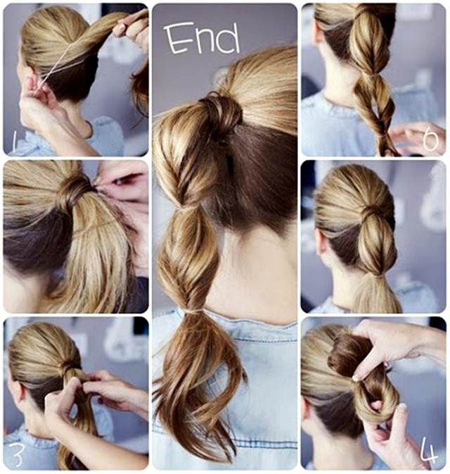 Cute And Fast Hairstyles  Cute Easy Quick Hairstyle s and for
