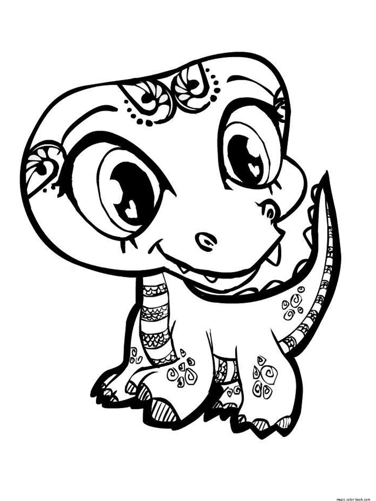 Cute Animal Coloring Pages For Girls  Stylish Cute Animal Coloring Pages For Girls At Out Animal