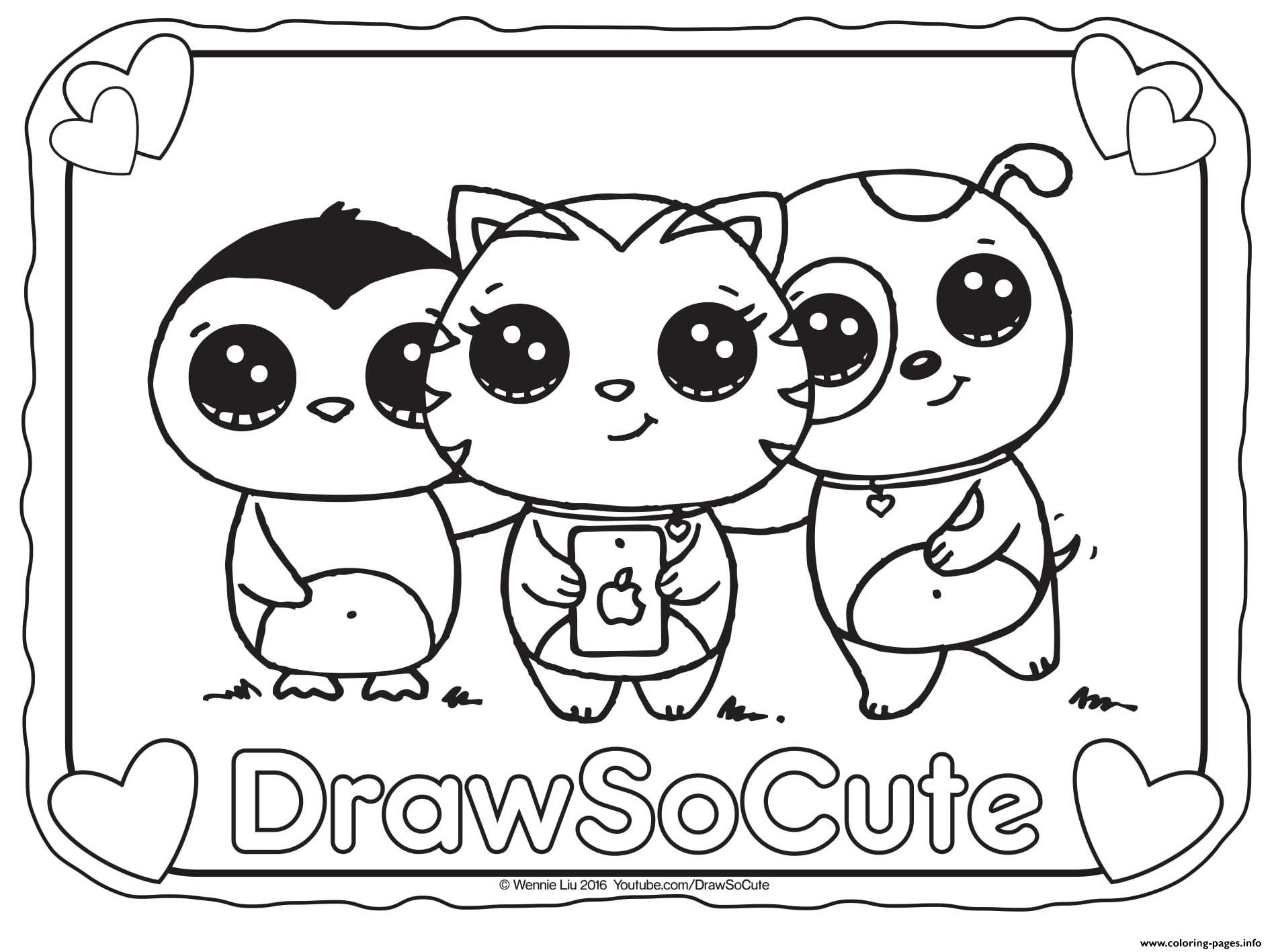 Cute Animal Coloring Pages For Girls  37 Coloring Pages Cute Cute Cartoon Baby Owl Coloring