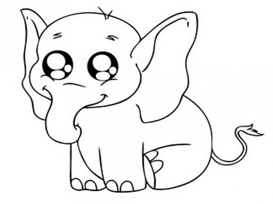 Cute Animal Coloring Pages For Girls  Cute Animal Coloring Pages For Girls Coloring Home