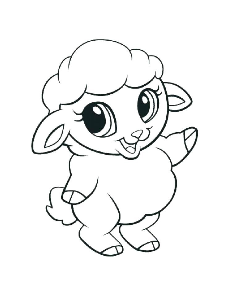 Cute Baby Animals Coloring Pages  Cute Animal Coloring Pages Best Coloring Pages For Kids