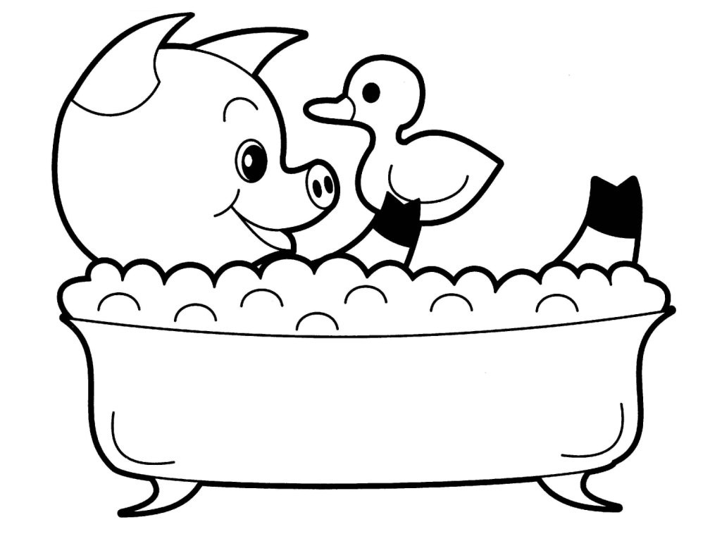 Cute Baby Animals Coloring Pages  Creative Cute Animal Coloring Pages Cute Coloring Pages