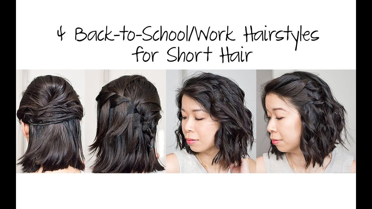 Best ideas about Cute Back To School Hairstyles For Black Hair . Save or Pin Cute Back To School Hairstyles For Short Curly Hair Now.