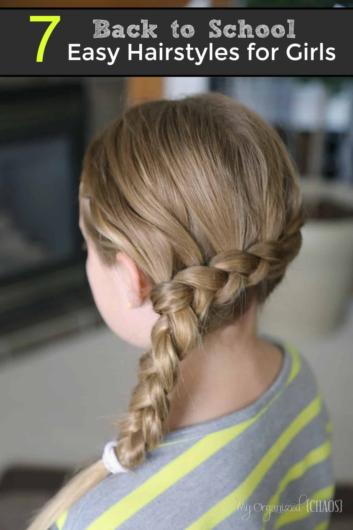 Best ideas about Cute Back To School Hairstyles For Black Hair . Save or Pin 7 Back to School Easy Hairstyles for Girls Now.