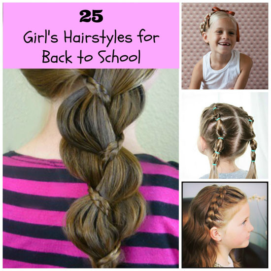 Best ideas about Cute Back To School Hairstyles For Black Hair . Save or Pin 25 Super Adorable Hairstyles For Girls Now.
