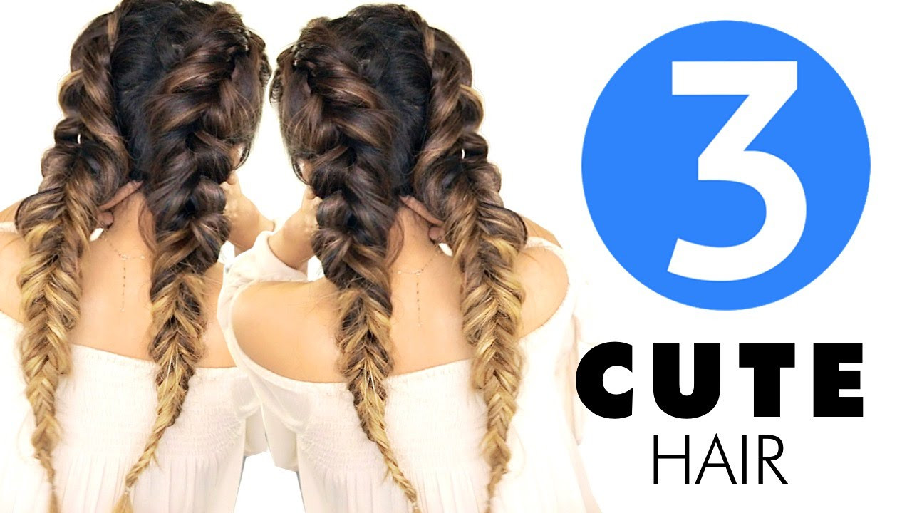 Best ideas about Cute Back To School Hairstyles For Black Hair . Save or Pin 3 Easy HAIRSTYLES Now.