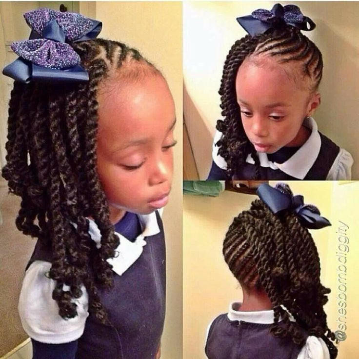 Best ideas about Cute Back To School Hairstyles For Black Hair . Save or Pin 15 Braid Styles For Your Little Girl As She Heads Back To Now.