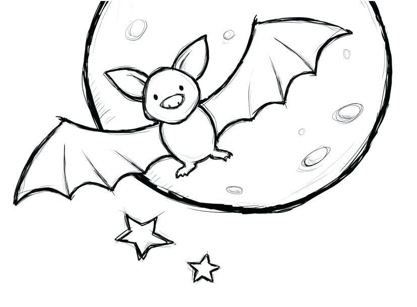 Cute Bat Coloring Pages  Bat Coloring Pages Page Beautiful Best New