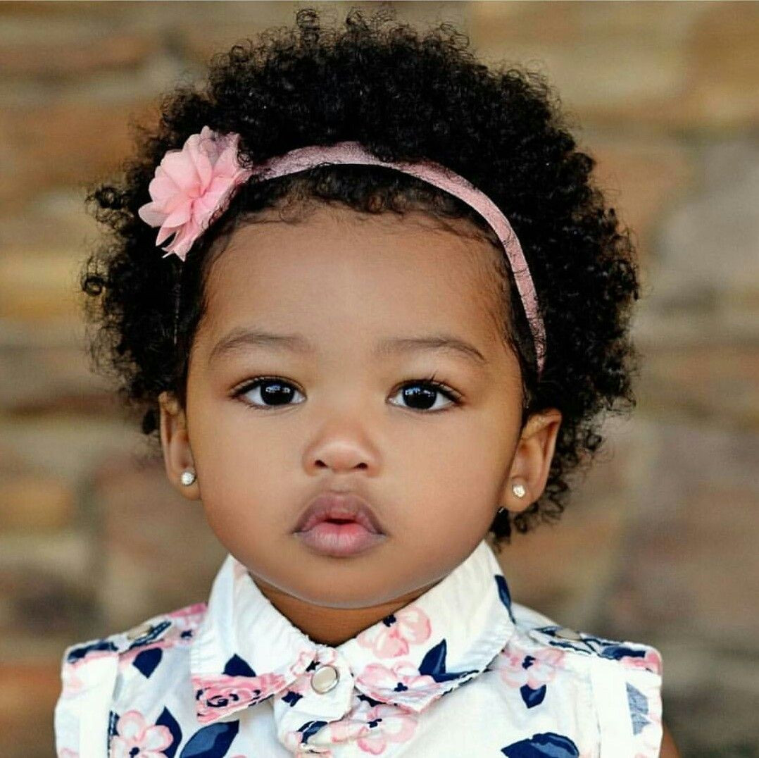 Cute Black Baby Hairstyles  Pin by India💓 Stubbs on Cuties Pinterest
