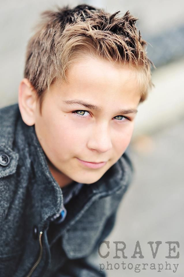 Cute Boy Hairstyles  Cute 10 year old boy Five Ways to Know If Your Son is