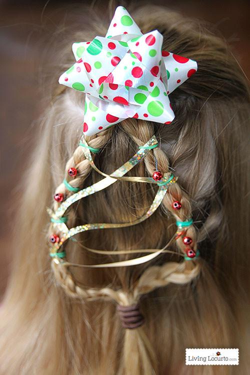 Cute Christmas Hairstyles  Christmas Tree Braid Cute Girls Hairstyle