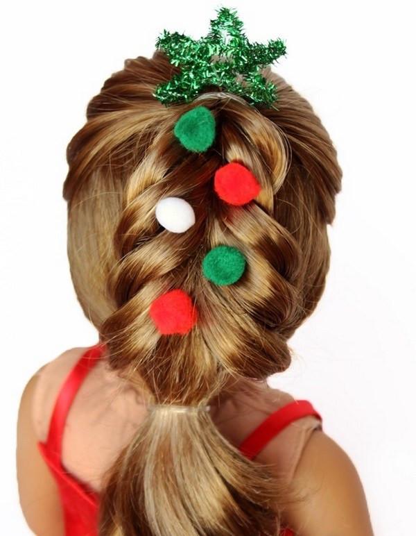 Cute Christmas Hairstyles  Cute Christmas hairstyles for little girls – charming