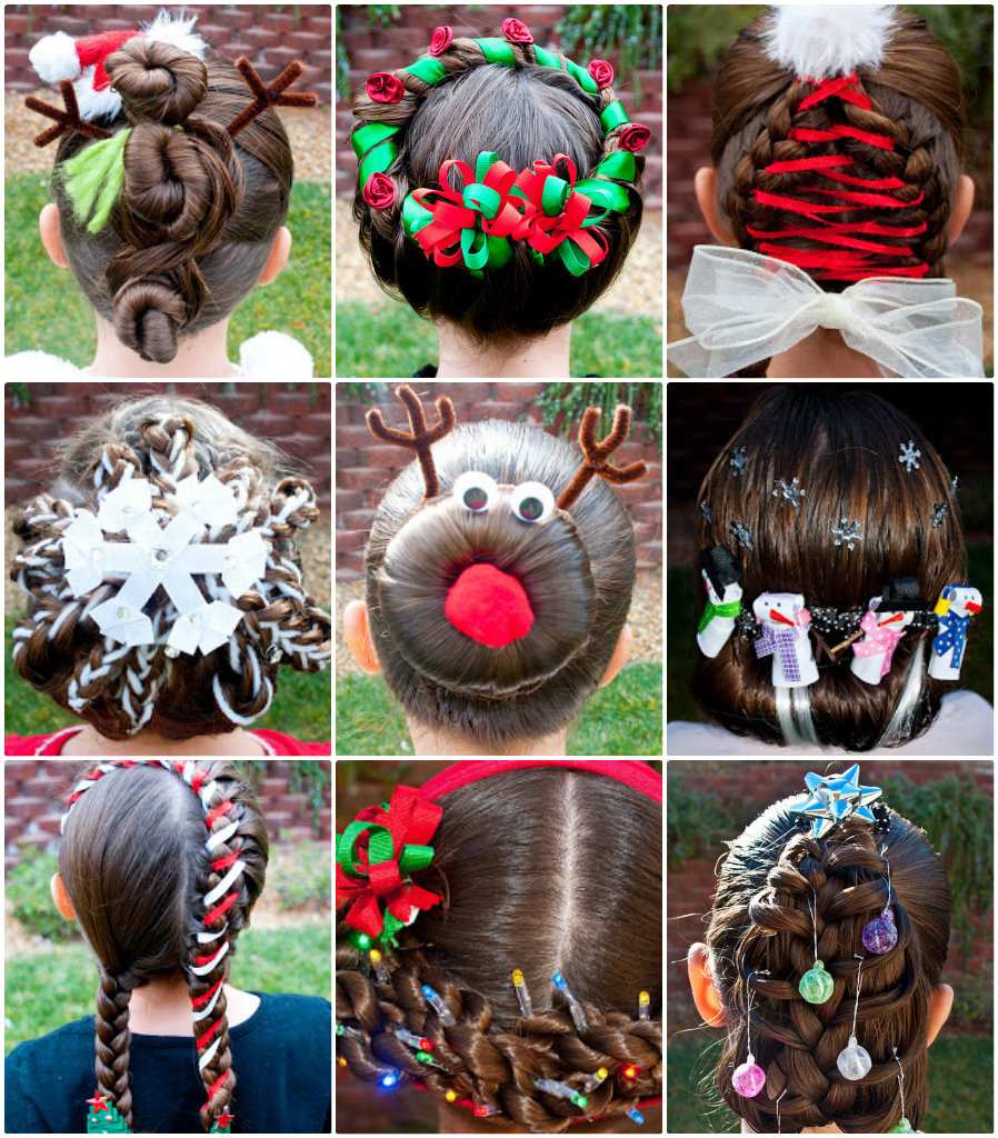 Cute Christmas Hairstyles  11 Wonderful and Cute Christmas Hairstyles
