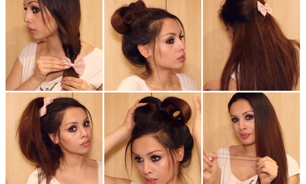 Cute Easy Fast Hairstyles  Nice Hairstyles For School HairStyles