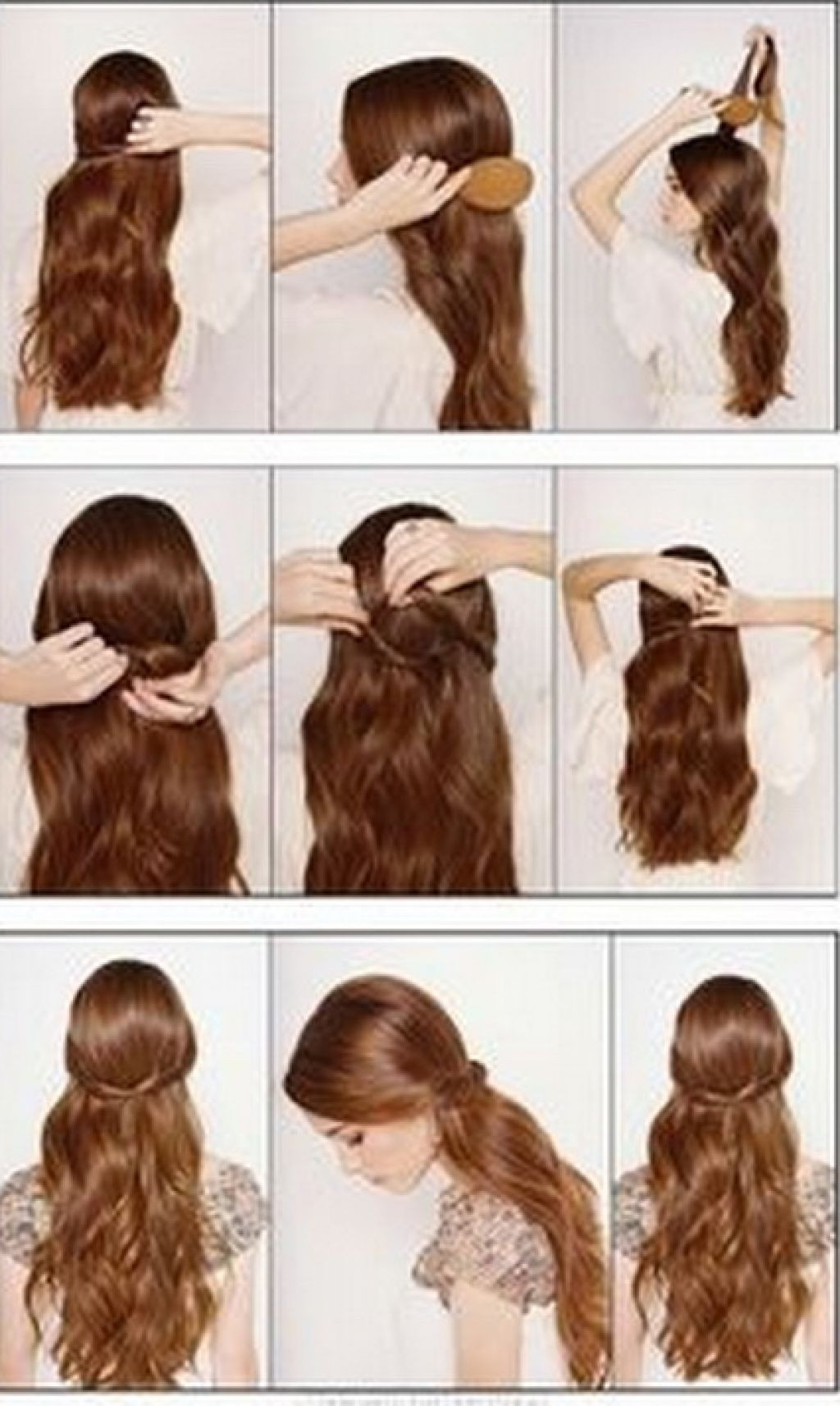 Cute Easy Fast Hairstyles  Cute Fast And Easy Hairstyles
