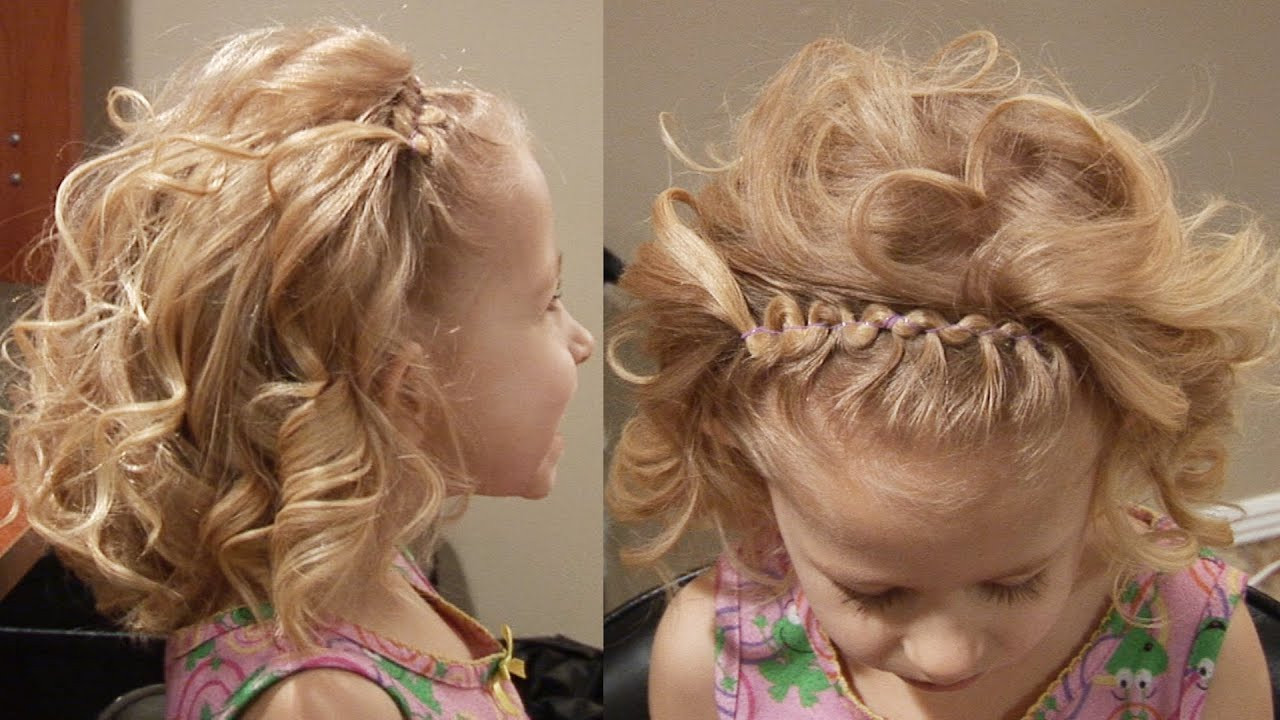Best ideas about Cute Flat Iron Hairstyles . Save or Pin Top 10 of Cute Girls Hairstyles Youtube Now.