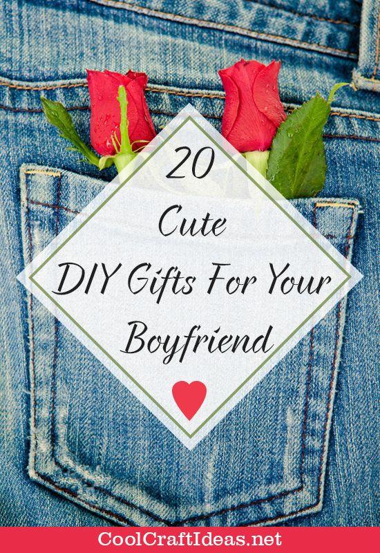 Cute Gift Ideas For Your Boyfriend  20 Cute DIY Gifts For Your Boyfriend