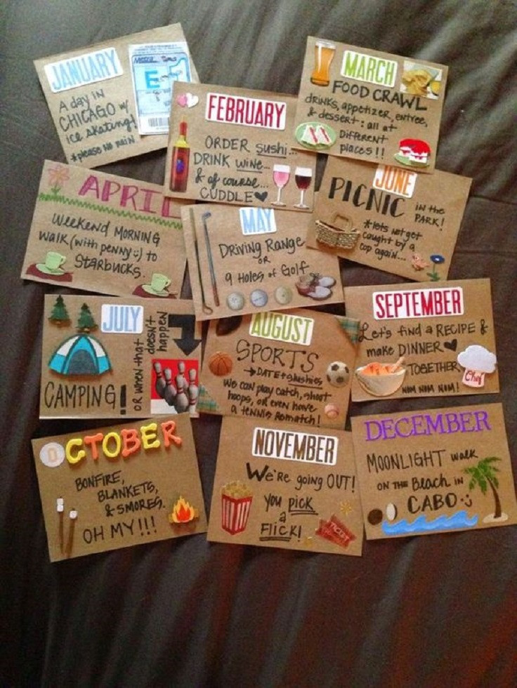 Cute Gift Ideas For Your Boyfriend  15 Low Cost and Lovable DIY Valentine s Day Gifts for Him