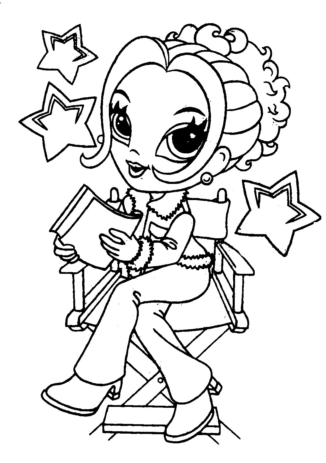 Cute Girl Coloring Sheets For Kids  Free Coloring Pages For Girls Cute Image 17 Gianfreda