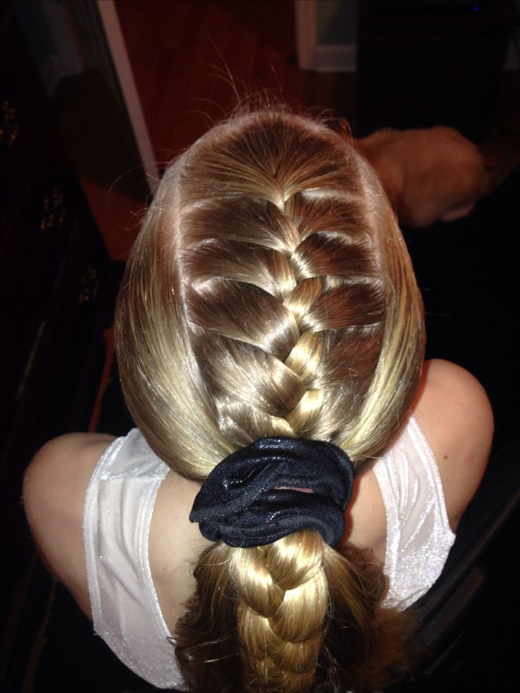 Cute Gymnastics Hairstyles  33 best images about Gymnastics hair styles for meets on
