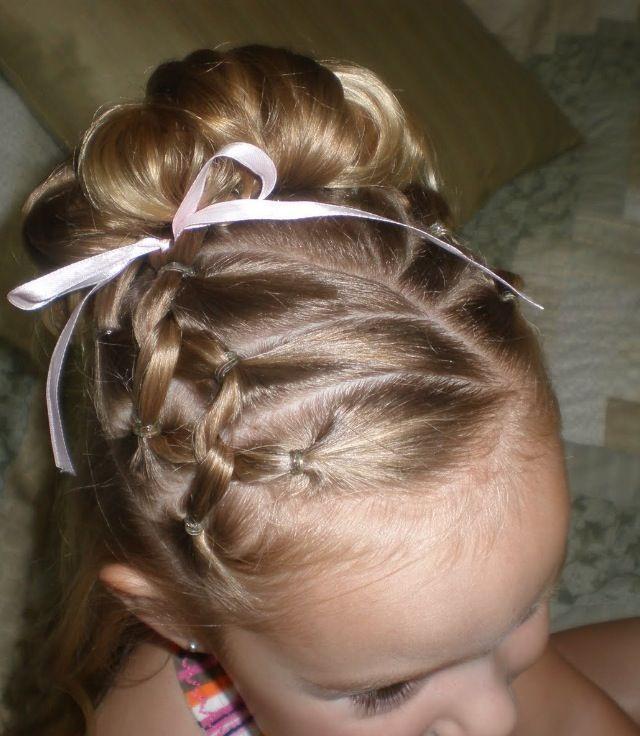 Cute Gymnastics Hairstyles  Cute French braids Cute Hair Pinterest