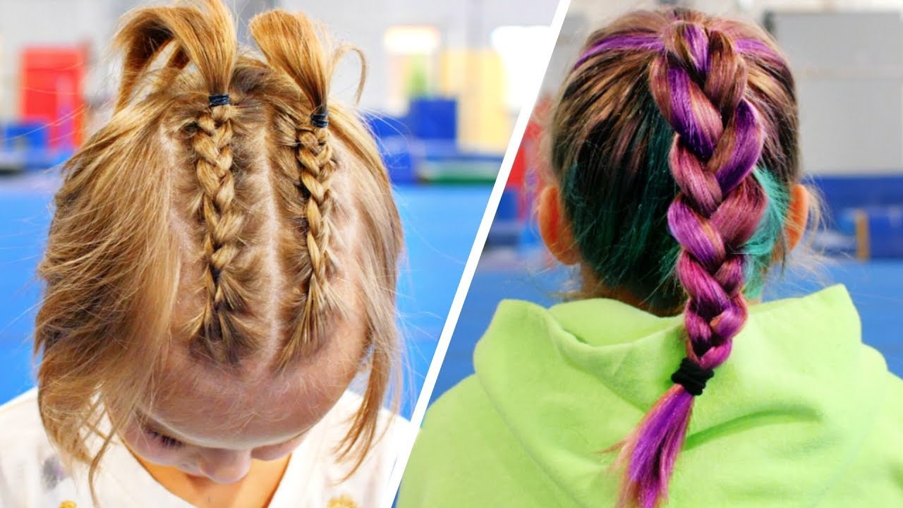 Cute Gymnastics Hairstyles  Cute Gymnastics Hairstyles For Practice