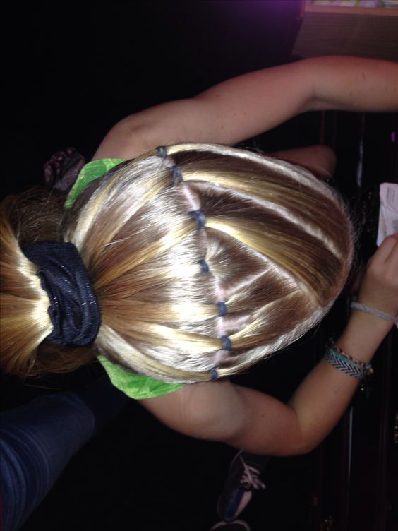 Cute Gymnastics Hairstyles  For more gymnastics hairstyles
