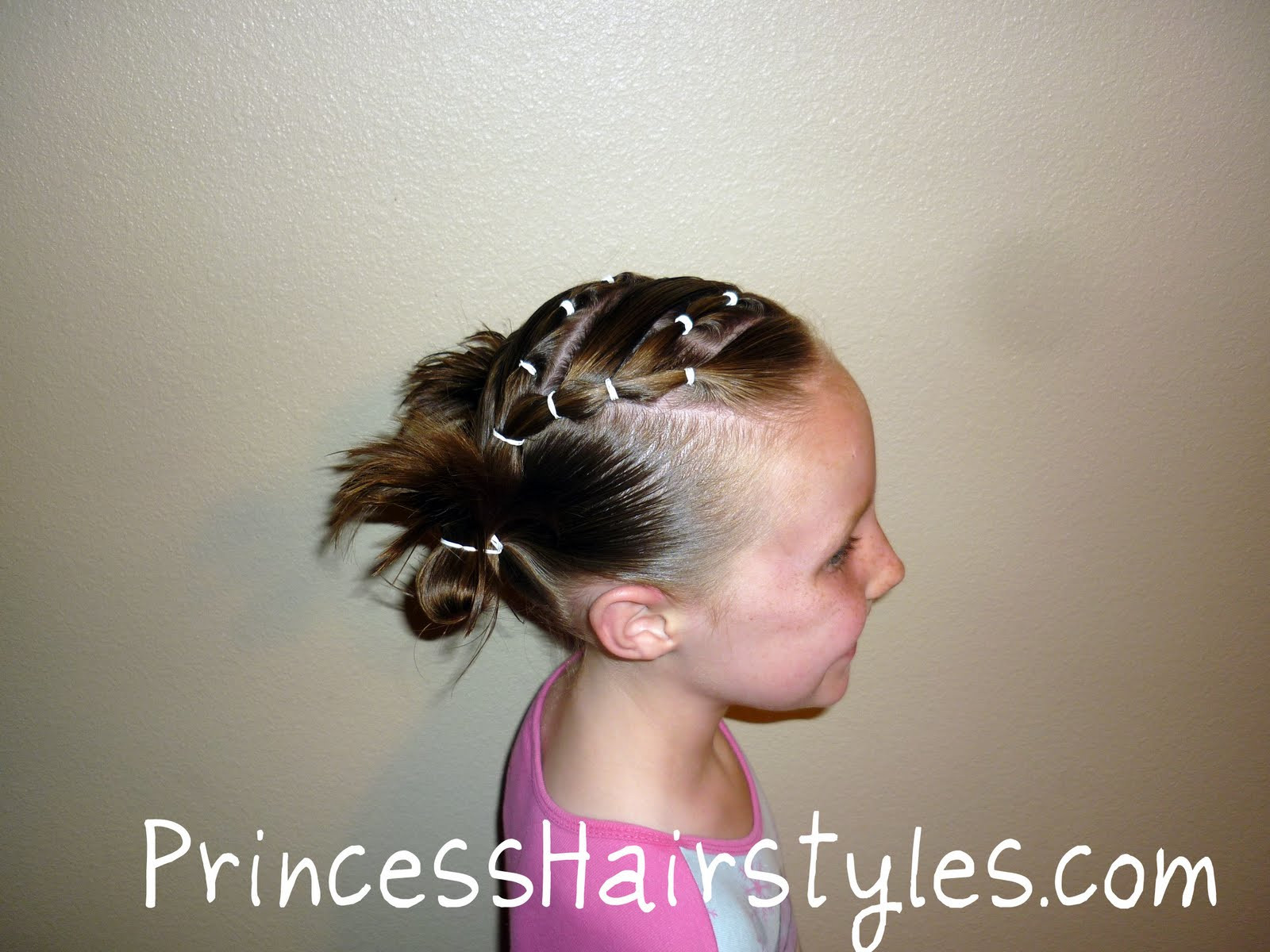 Cute Gymnastics Hairstyles  Easy Hairstyles For Gymnastics Meets