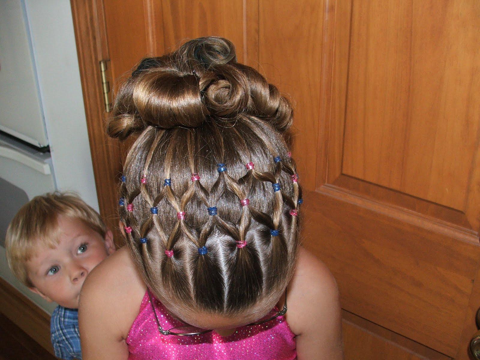Cute Gymnastics Hairstyles  Gymnastics Hairstyles