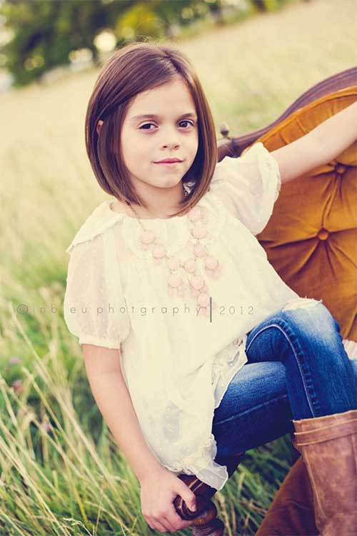 Cute Haircuts For Little Girls  20 Bob Hairstyles for Girls