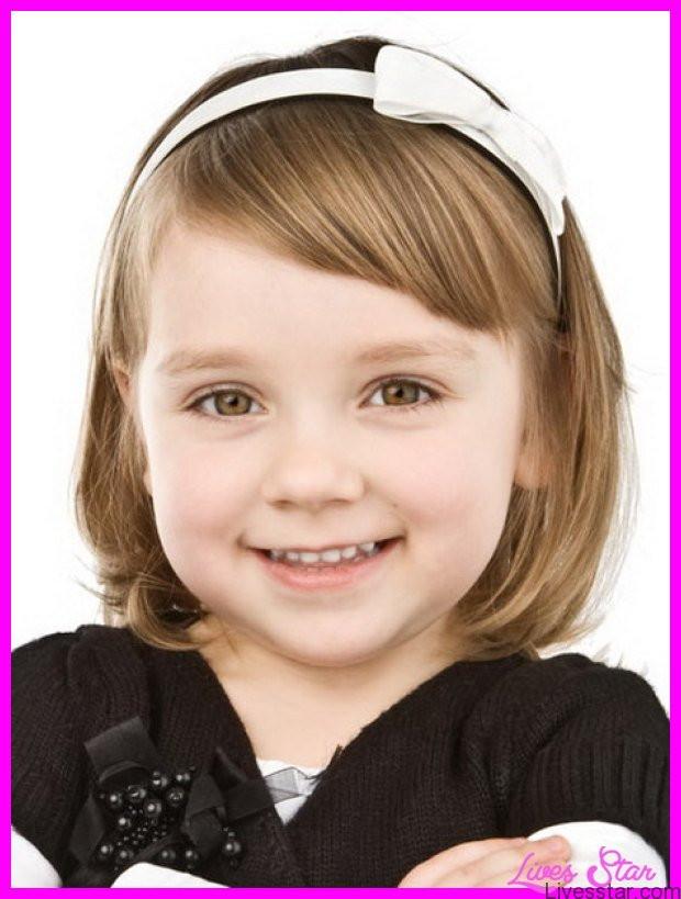 Cute Haircuts For Little Girls  Cute medium haircuts for little girls LivesStar