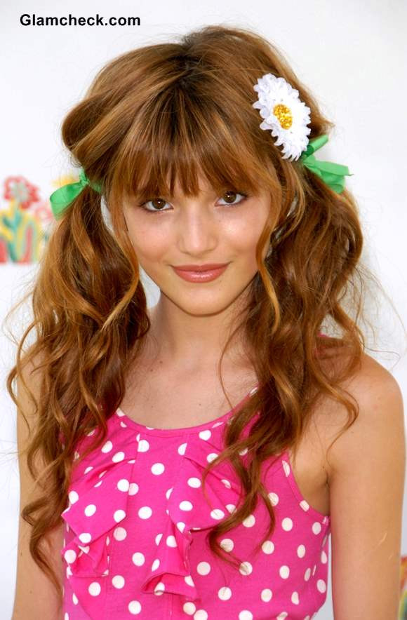 Cute Haircuts For Little Girls  Bella Thorne Inspired Fun Hairstyles for little Teenage Girls