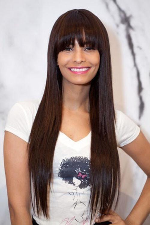 Cute Haircuts For Straight Hair  Long Straight Hairstyles