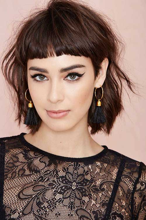 Cute Hairstyles For Bangs  10 Cute Simple Hairstyles For Short Hair