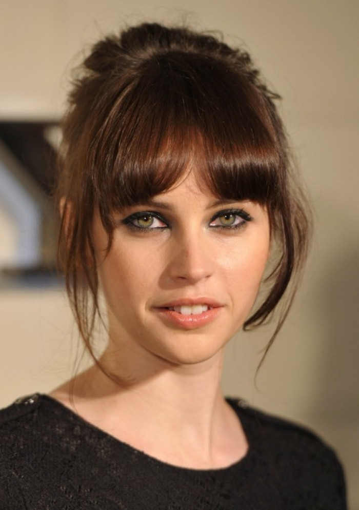 Cute Hairstyles For Bangs  Cute Easy Hairstyles for School with Bangs