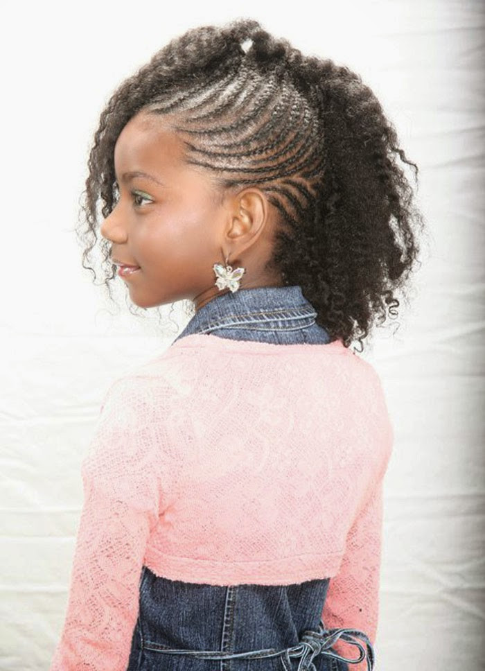 Best ideas about Cute Hairstyles For Black Toddlers . Save or Pin Little black kids hairstyles Hairstyle for women & man Now.