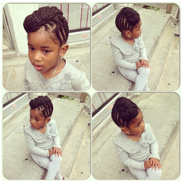 Best ideas about Cute Hairstyles For Black Toddlers . Save or Pin Top Cute Kids Braiding Hairstyles pleted With Now.