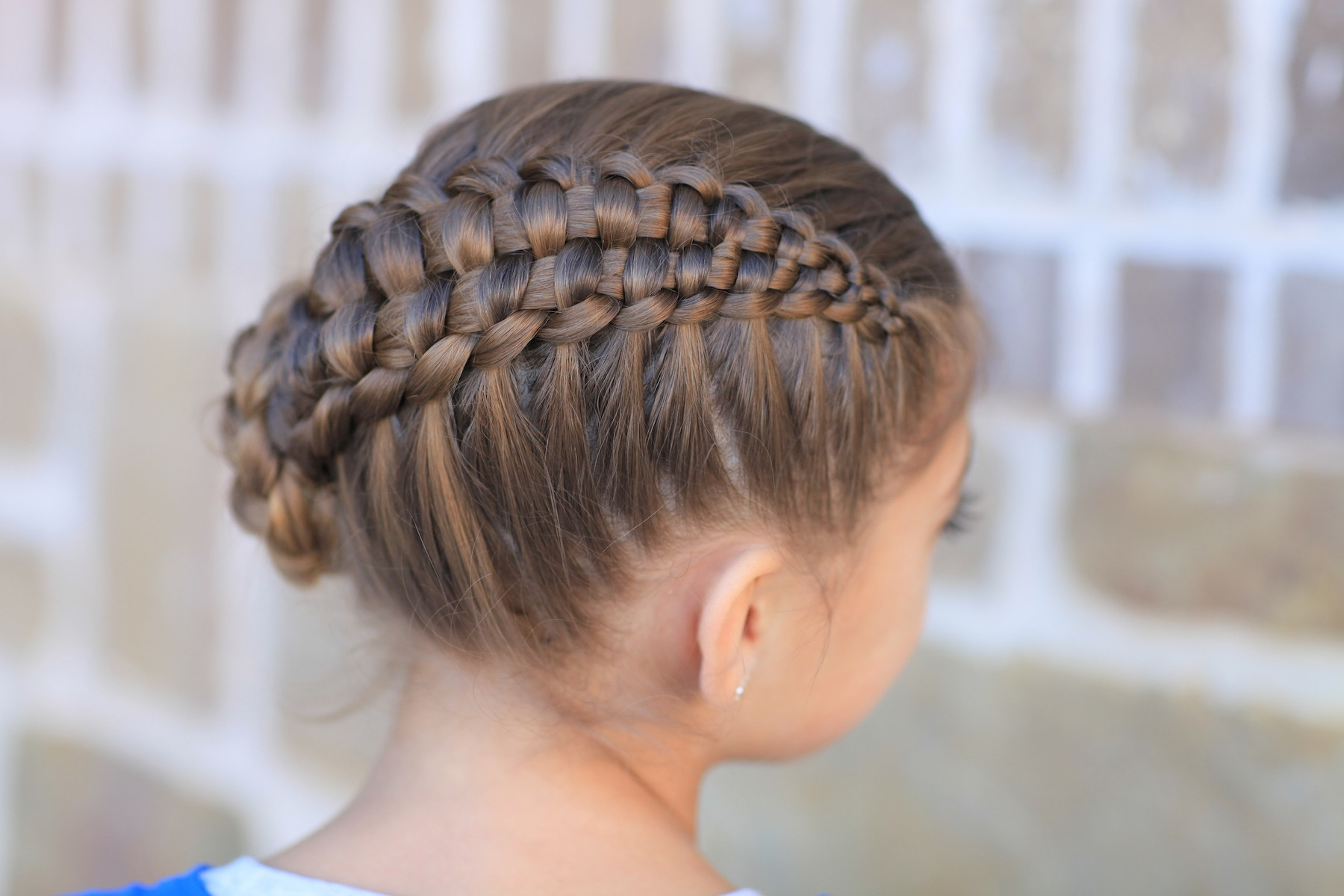 Cute Hairstyles For Braids  How to Create a Zipper Braid Updo Hairstyles