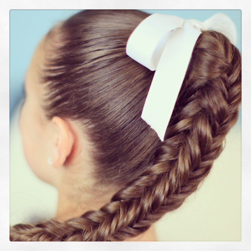 Cute Hairstyles For Braids  Box 4 sided Fishtail Braid Cute Braid Ideas
