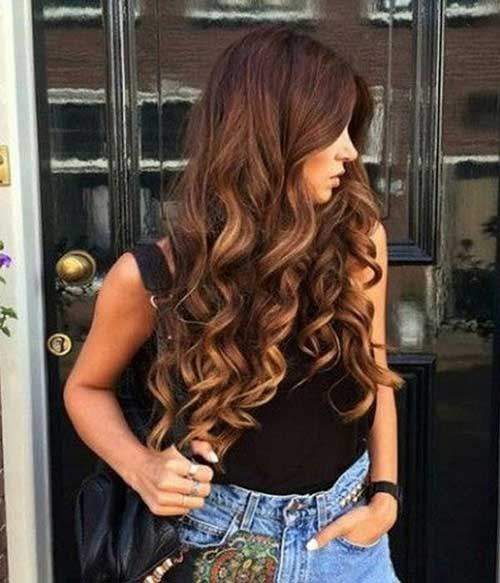 Cute Hairstyles For Curly Hair  30 Cute Long Curly Hairstyles