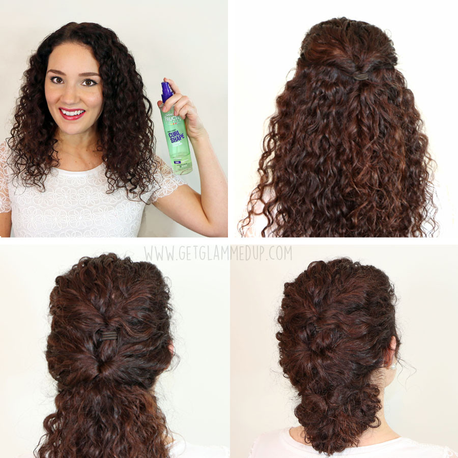 Cute Hairstyles For Curly Hair  Quick And Easy Hairstyles For Curly Hair Hairstyles