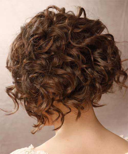 Cute Hairstyles For Curly Hair  35 Cute Hairstyles For Short Curly Hair Girls