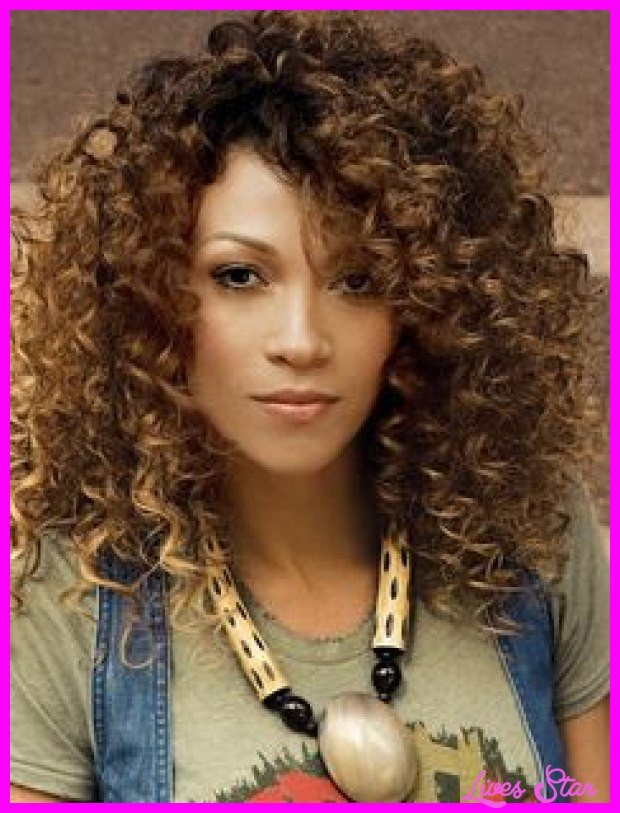 Cute Hairstyles For Natural Curly Hair  Cute haircuts for girls with naturally curly hair