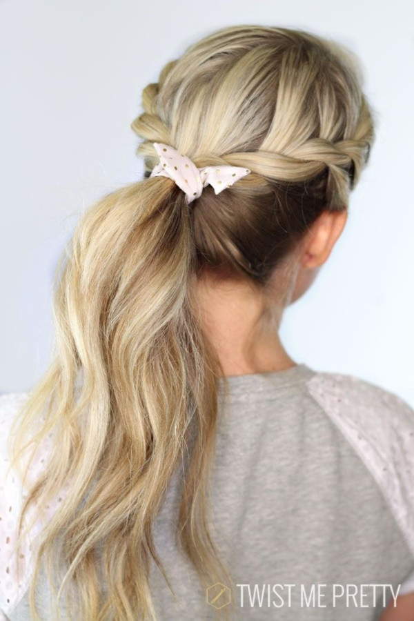 Cute Hairstyles For Picture Day At School  40 Quick and Easy Back to School Hairstyles for Long Hair
