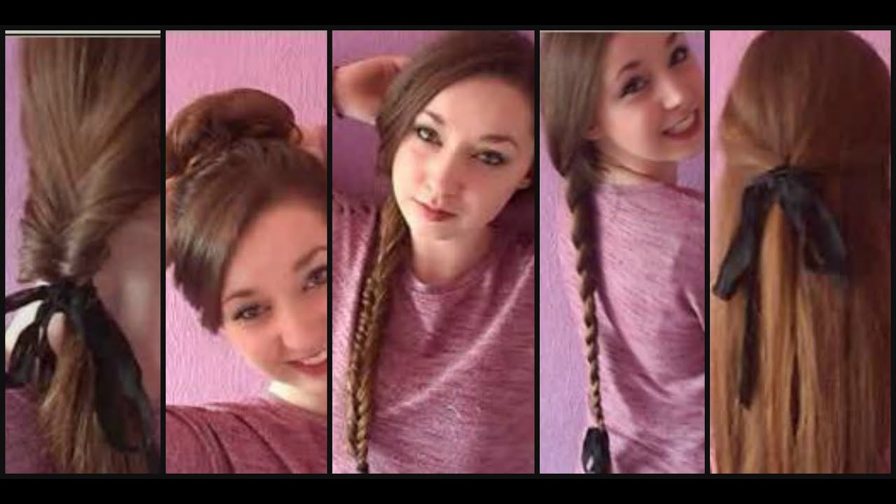 Cute Hairstyles For Picture Day At School  Running Late 10 FAST Easy Hairstyles For School College