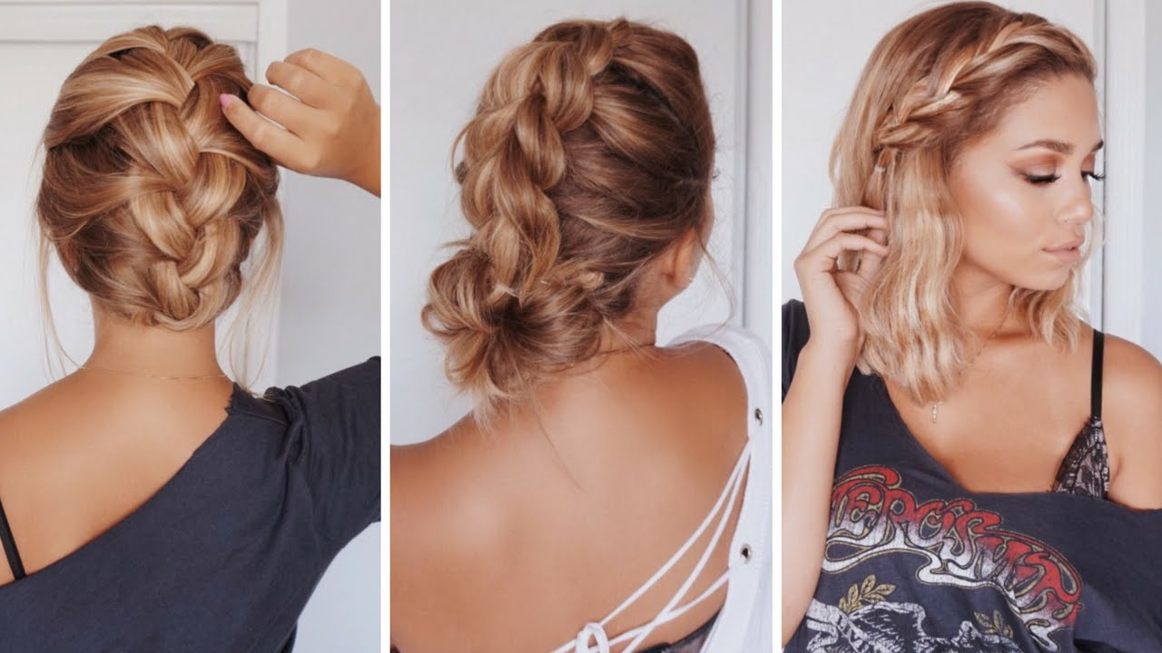 Cute Hairstyles For Shoulder Length Hair  Know easy hairstyles for medium length hair Yasmin Fashions