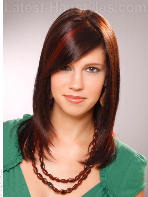 Cute Hairstyles For Shoulder Length Hair  pehampav really cute hairstyles medium hair