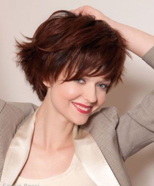 Best ideas about Cute Hairstyles For Thick Hair . Save or Pin 15 Cute Short Hairstyles for Thick Hair Now.