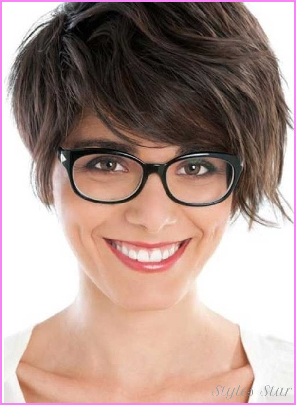 Best ideas about Cute Hairstyles For Thick Hair . Save or Pin Cute medium short haircuts for thick hair StylesStar Now.
