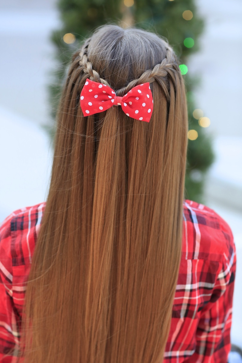 Cute Hairstyles That Are Easy  Upward Lace Braid and TheGift Nativity Feature